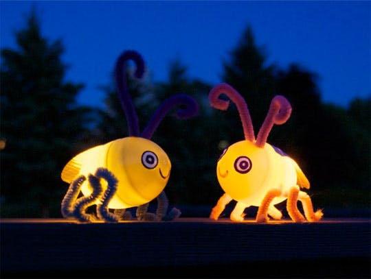 au pair kids craft firefly