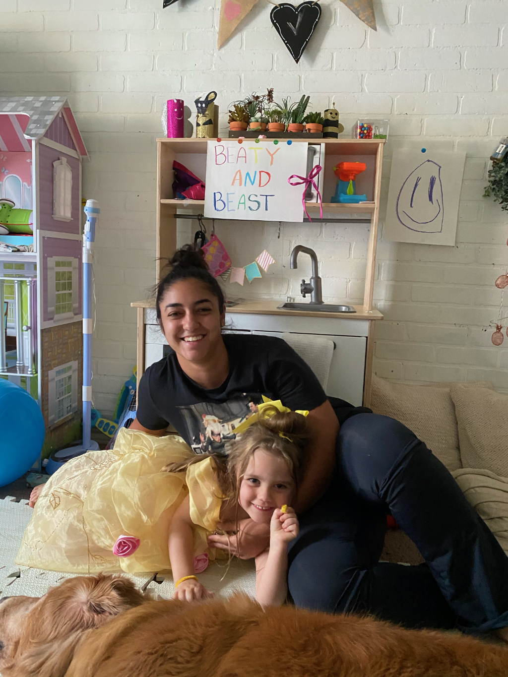 au pair from brazil with host kid in texas