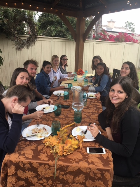 au pairs celebrate thanksgiving