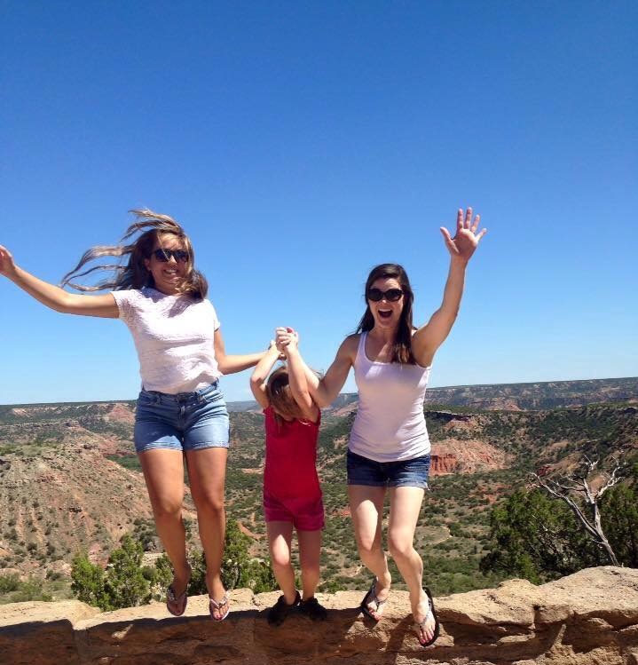 au pair  family travel to grand canyon