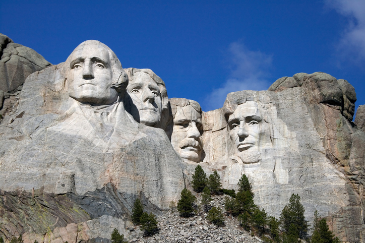mount rushmore president's day united states