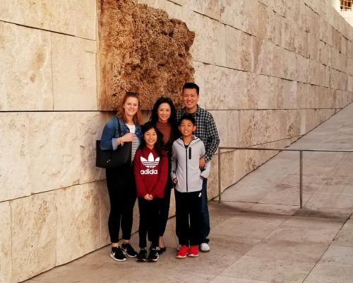 California host family with german au pair