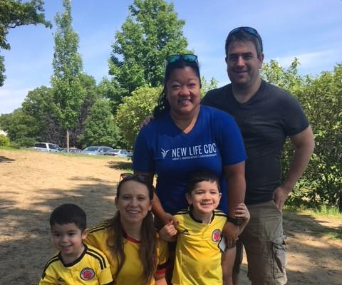 NY Au Pairs and Host Families Celebrate the World Cup