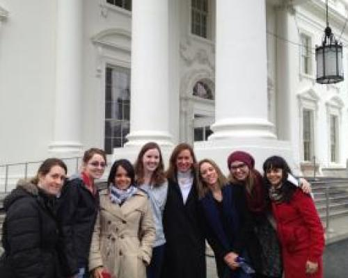 AuPairCare Au Pairs at the U.S. White House