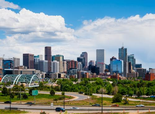 Denver, Colorado is a great city to visit during your au pair year.