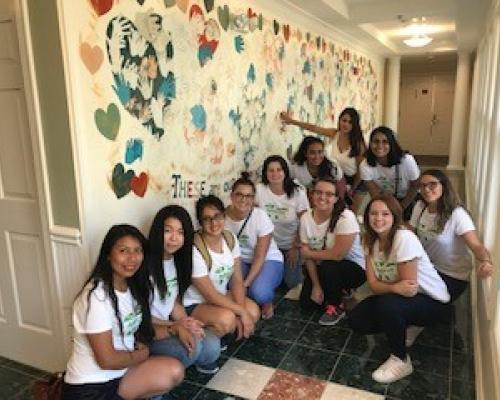 VA Au Pairs Volunteer at Ronald McDonald House