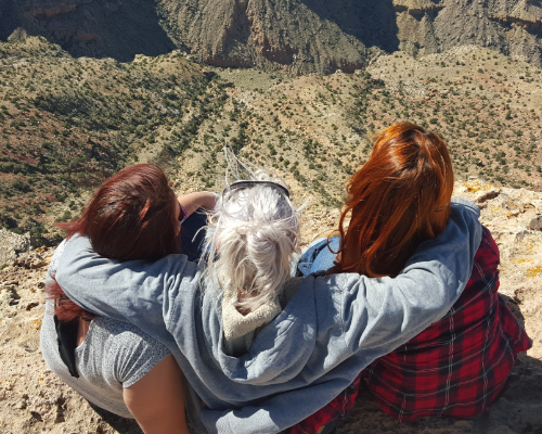 Au Pairs At the Grand Canyon