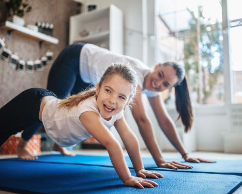 10 Tips for Keeping a Wellness Routine at Home With Kids