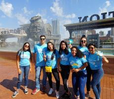 Pennsylvania Au Pairs Assist with Pittsburgh Walk