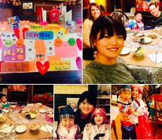 Pittsburgh Au Pairs Share the Korean Lunar New Year