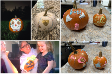 AuPairCare Au Pairs Supporting Charity Little Heroes Foundation Gold Pumpkins
