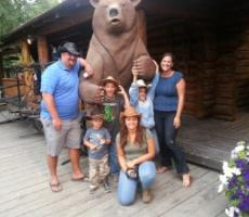 Au Pair Vacationing with Host Family