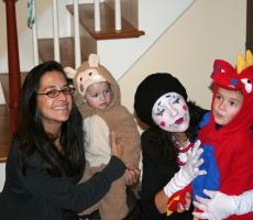 Au Pair Family and Halloween