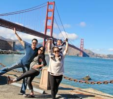 Bay Area Au Pair and Host Family Golden Gate