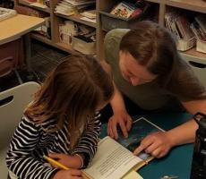 Au Pair Becomes A Weekly Volunteer at Her Host Child's School