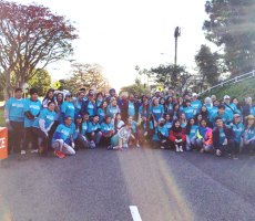 Au Pairs Volunteer at LA Marathon with Department of State