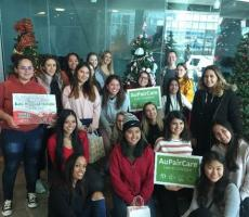 Long Island AuPairCare Au Pairs Participate in the Festival of Trees