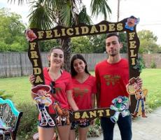 Texas Au Pairs Volunteer at Party for Children with Special Needs