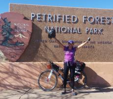 Au Pair Explores America on Route 66