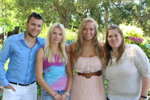 Repeat au pairs return to the United States