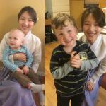 Au pair Karam from South Korea